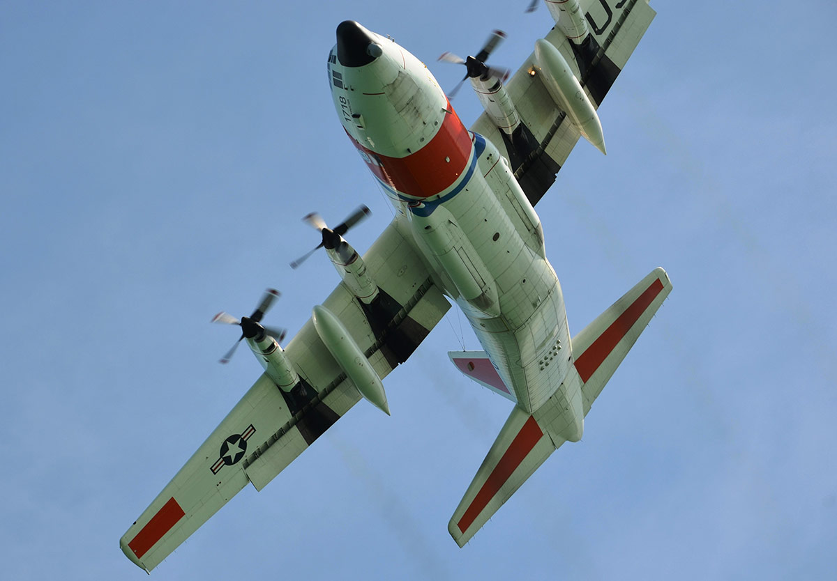 USCG C-130 Hercules out of USCG Air Station Clearwater, Florida