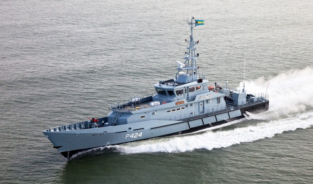 "Jamaican Defense Force ship ""Middlesex"""
