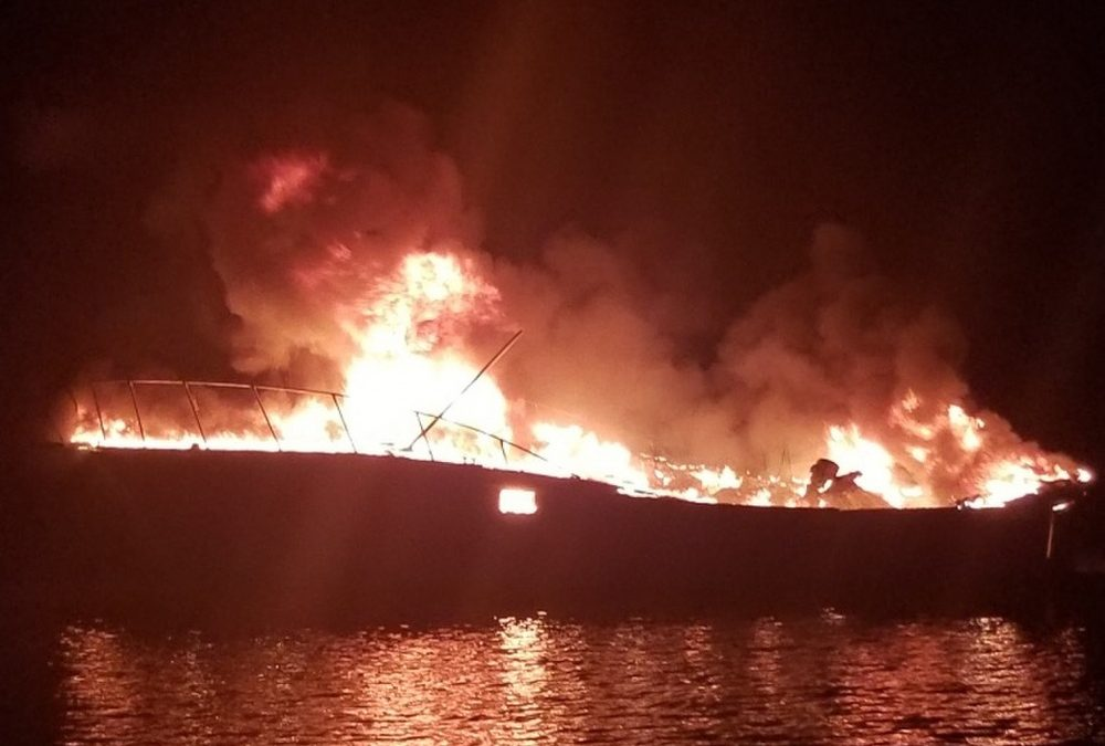 USCG Rescues 3 From Life Raft Dauphin Island Alabama