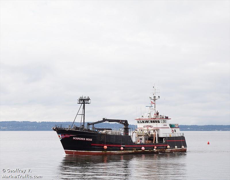 130 foot Crabbing Vessel Sinks Off Alaska Two Rescued