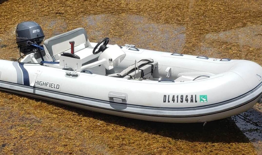 Bahamas Defense Force Recovers Highfield Dinghy