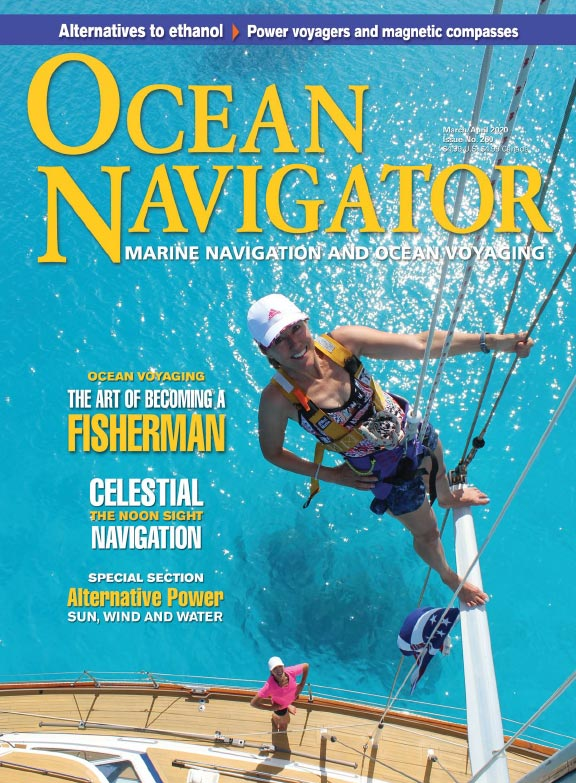 Ocean Navigator magazine featuring Boat Watch
