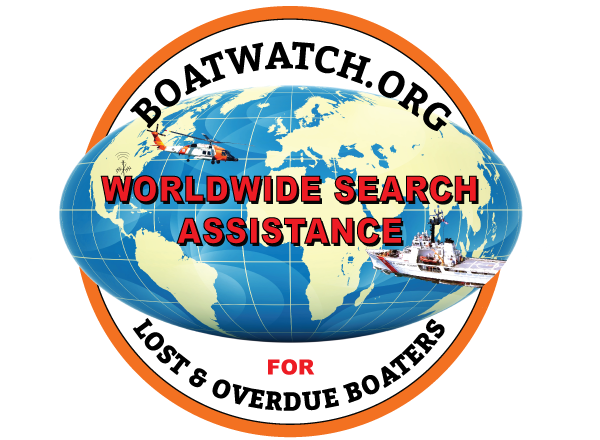 Boat Watch, International search aid for missing & overdue boats.