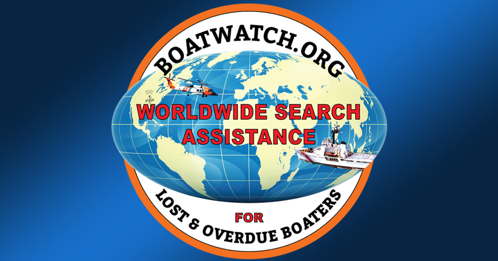 Boatwatch.org, assistance finding lost & overdue boaters