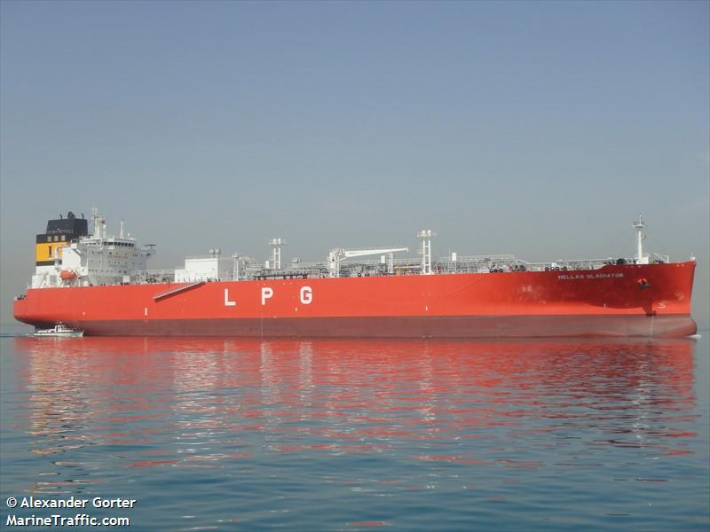 BOLO Crew Member Missing Tanker Hellas Gladiator 400 Miles Off NC