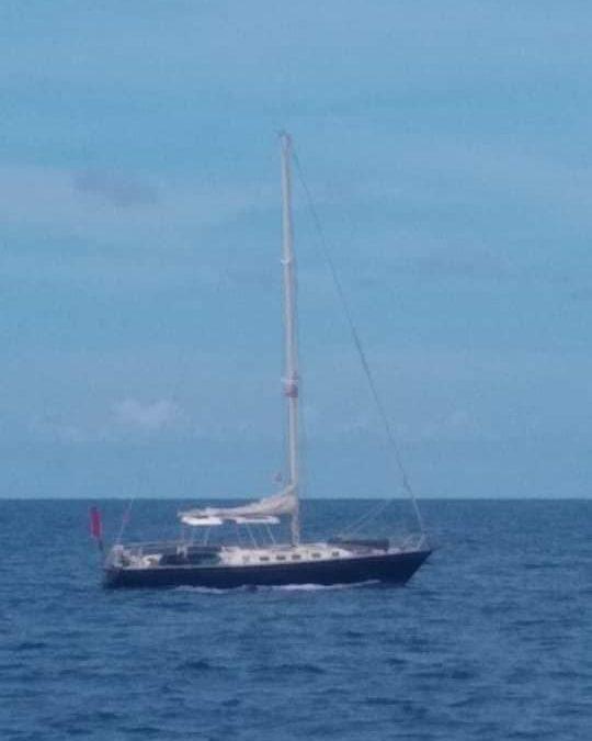 BOLO: SV Breeze St. Thomas to Grenada