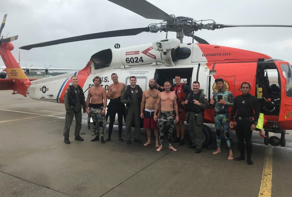 PLB Saves Six Mariners Off Cape Henry