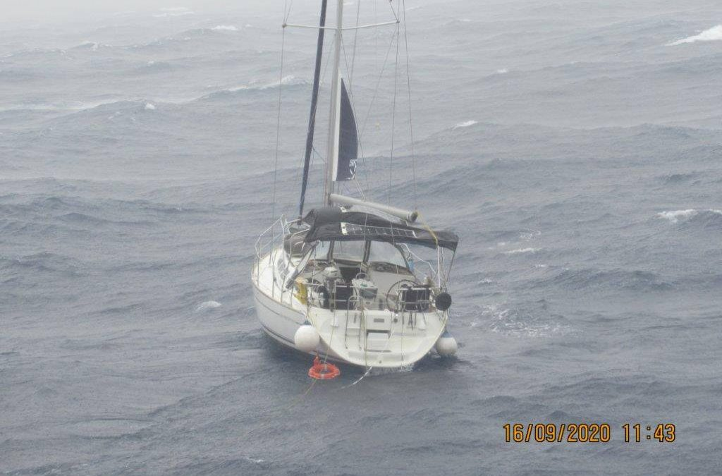 Australian Maritime Safety Authority & Malta Rescue Coordination Centre Rescue Two