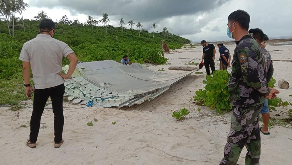 Aircraft debris found in Eastern Samar Philippines