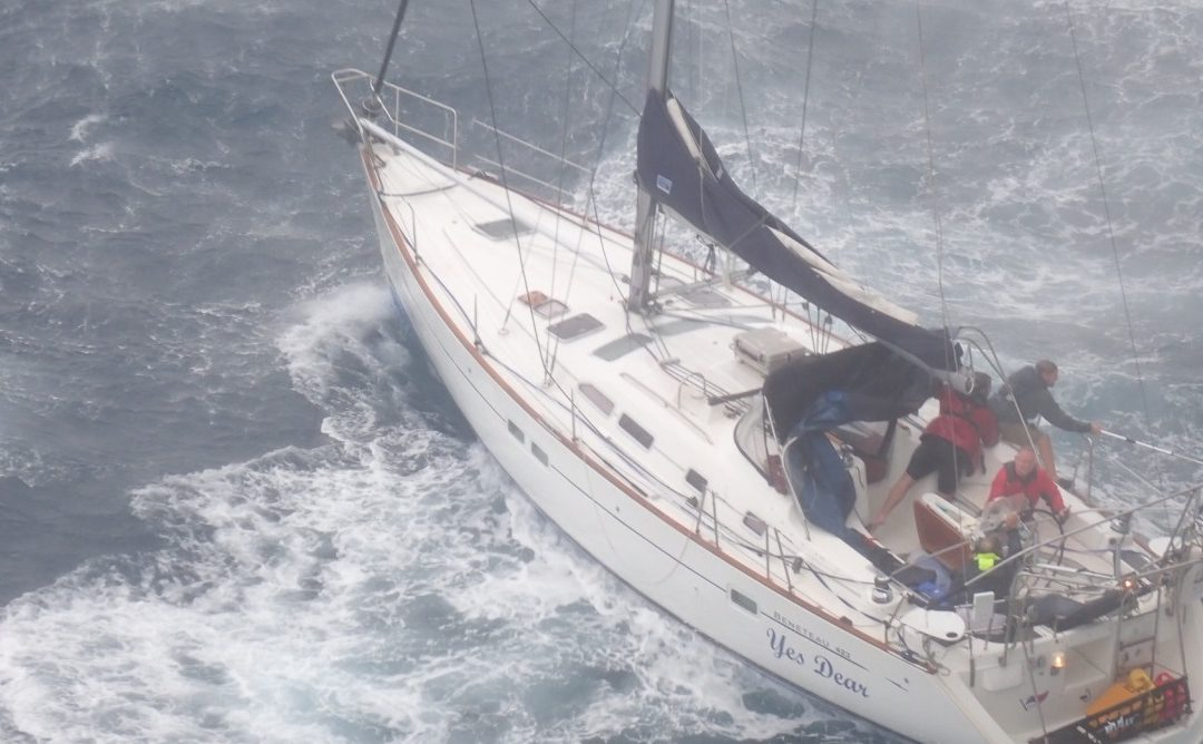 SV YES DEAR Washes Ashore After Hurricane Sally – Crew Rescued 130 NM Off Tampa, FL