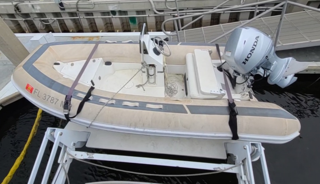Lost Dinghy On Passage Tampa, FL to Panama City, FL