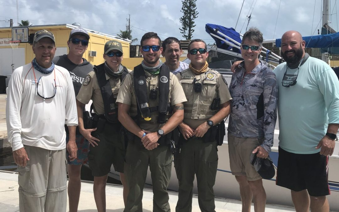 PLB Helps With Rescue Of Five Off Key Largo