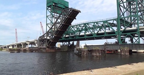 Barge Collision With Norfolk Southern #7 Railroad Bridge Open Now