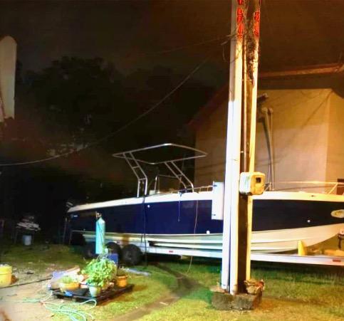 BOLO For Scarab LOS ALBERTOS With 5 Persons Off Colon, Panama
