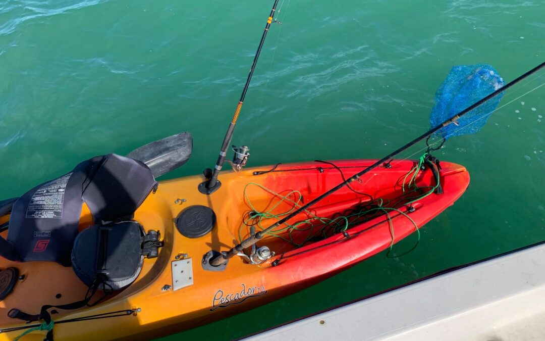 USCG Looking For Owner Of Unmanned and Adrift Kayak