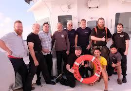 Finnish Cargo Ship Rescues 3 Sailors from liferaft Atlantic Ocean