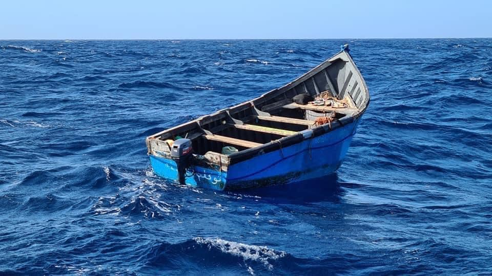 Unmanned Six Meter Blue Fishing Boat Spotted Adrift Canary Islands