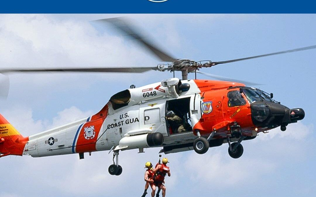 USCG Rescues Sailor in Sinking SV 120 NM East of Palm Coast, Florida