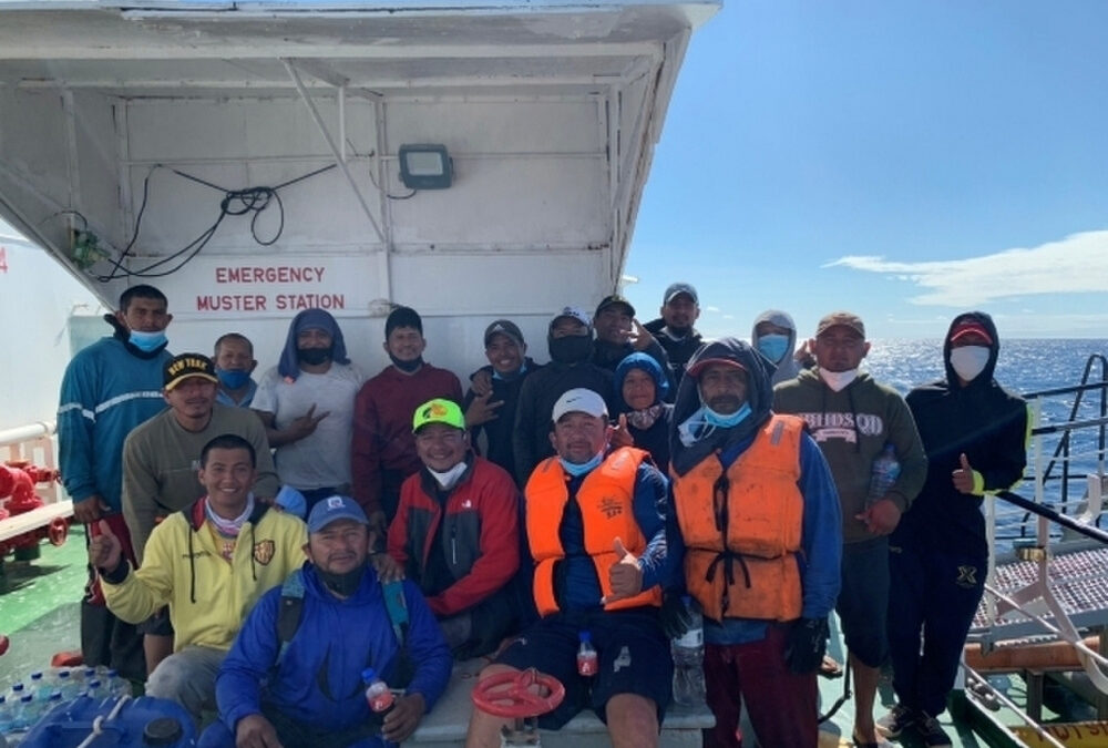 Coast Guard Coordinates Rescue Of 18 Ecuadorians After Fishing Vessel Sank Off Galapagos Islands