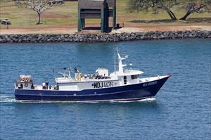 BOLO: Man Overboard FV Sea Goddess Hawaii