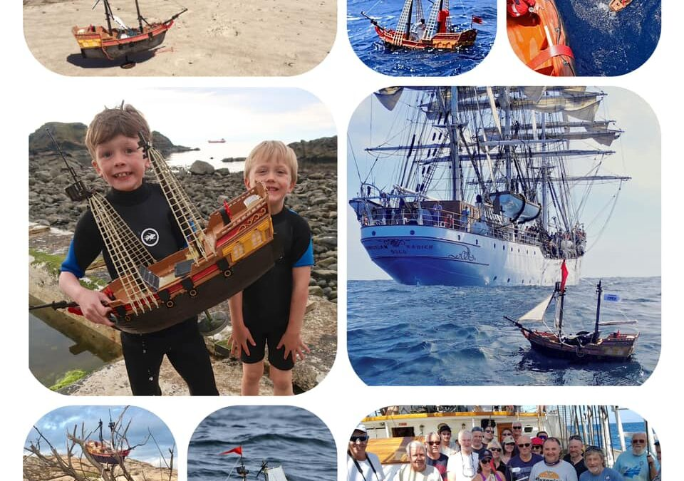 Scottish Kids Need Help With Tracking Their Pirate Ship