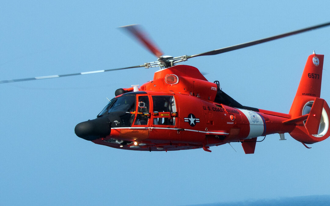 USCG Rescues 3 From Fishing Vessel Fire Near Pascagoula, Mississippi