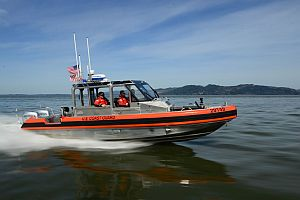 USCG And Good Samaritan Rescue Man After Vessel Sinks 20 Miles SW Of Kitty Hawk, NC