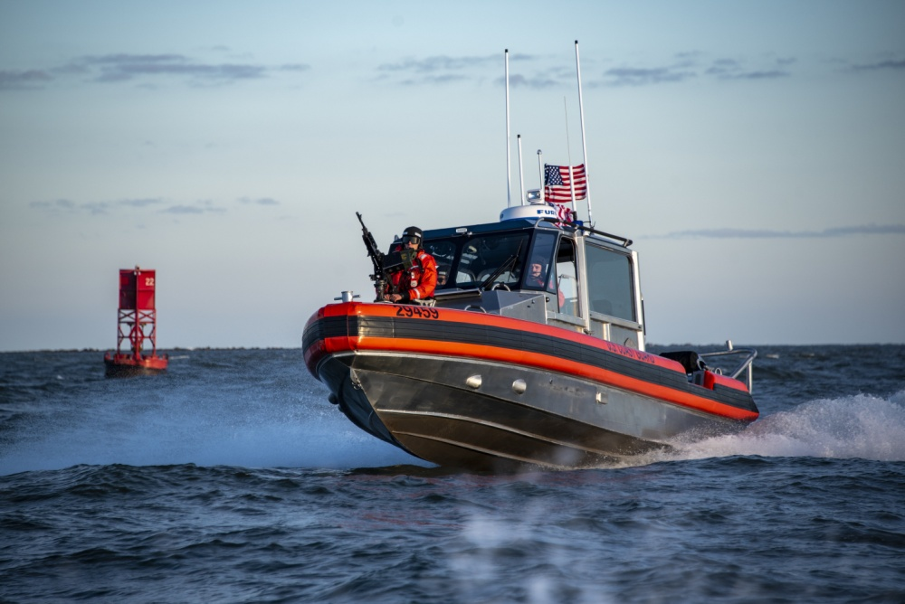 Portland Oregon Suspects Point Laser at USCG Boat Crew – Public's Help Requested