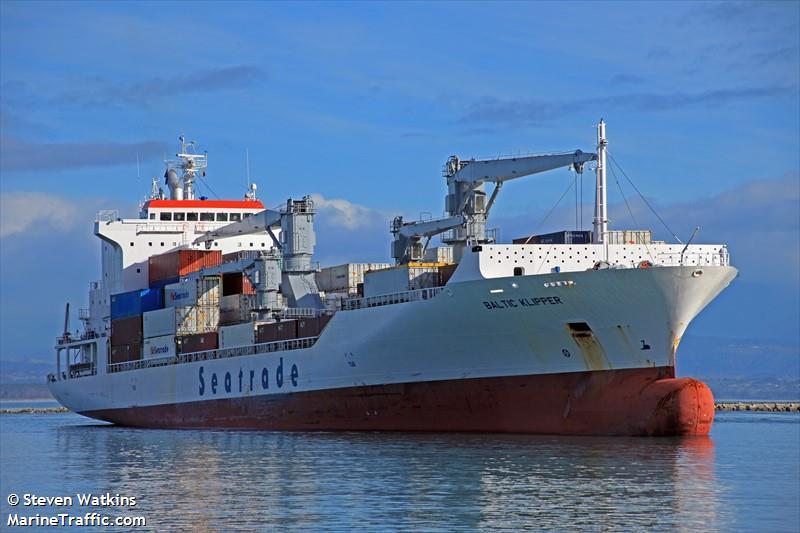 Man Overboard From MV Baltic Klipper 1,200 Miles NE of Bermuda
