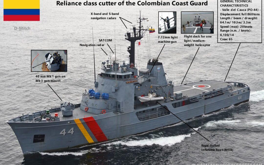BOLO: Colombian Coast Guard Conducting Rescue Near Sapzurro
