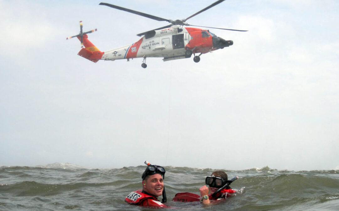 USCG Fast Response Saves Three Persons and A Dog Willapa Bay, Washington