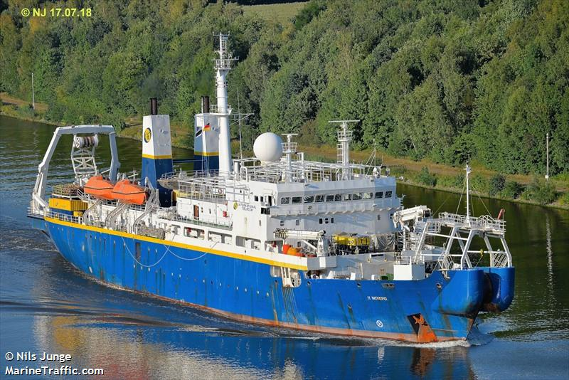 BOLO For Cable Ship Off Barranquilla, Colombia