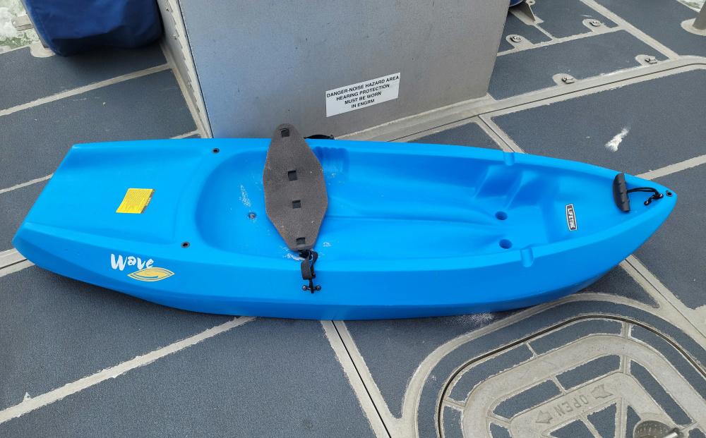 Kayak Found in ICW Masonboro Island, North Carolina