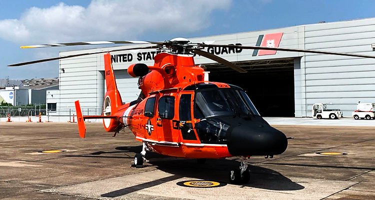 USCG MH-65 Helicopter