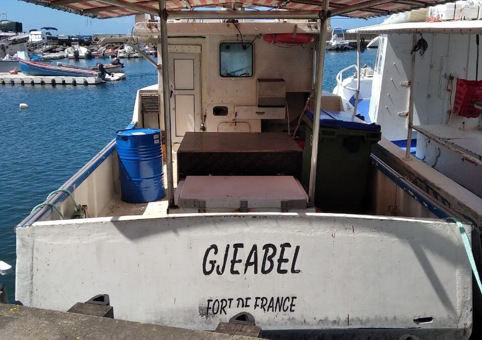 Fishing Vessel Adrift Off Dominica
