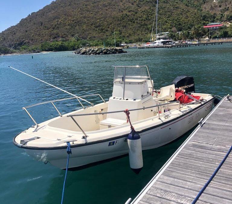 Boston Whaler Found British Virgin Islands