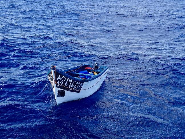 Unmanned Yola Adrift 310 Nautical Miles Off Puerto Rico