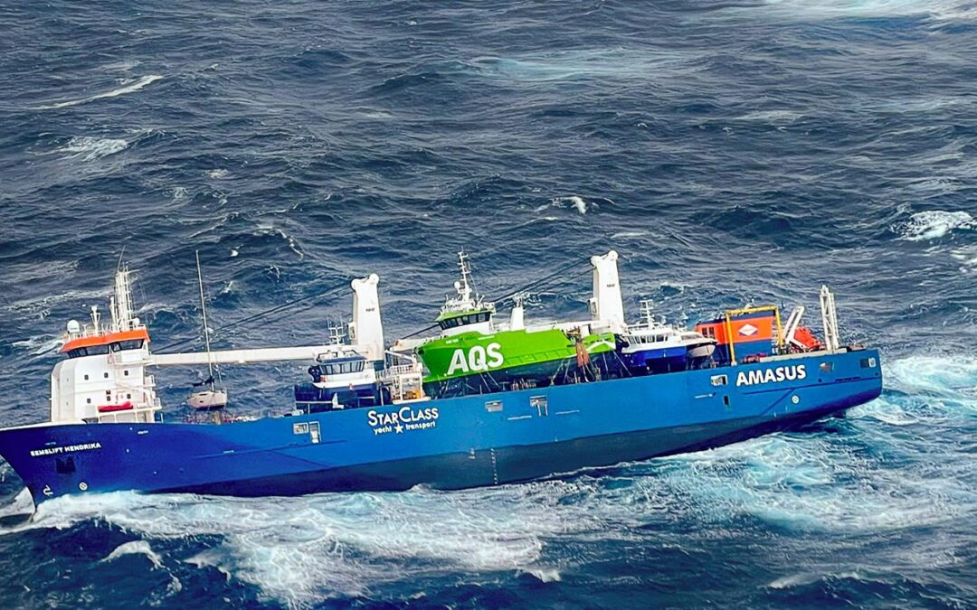 Cargo Ship Off Norway Towed to Port After Dramatic Rescue of Crew
