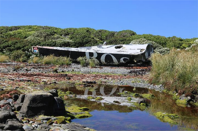 Abandoned Hugo Boss yacht found in Patagonia after 10 years