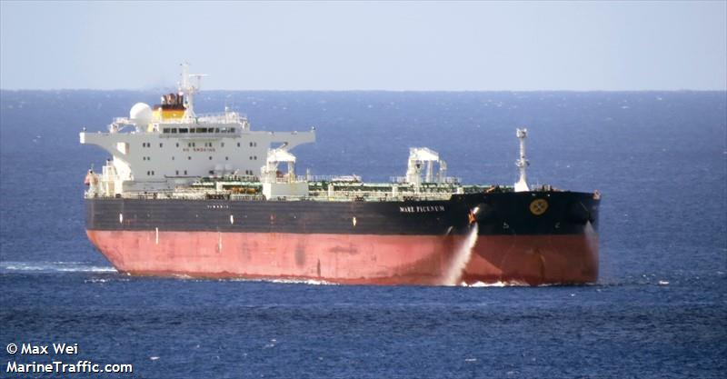 "Italian Oil Tanker ""Mare Picenum"" & USCG rescues German Sailor 400 Miles SE of Long Island, NY"