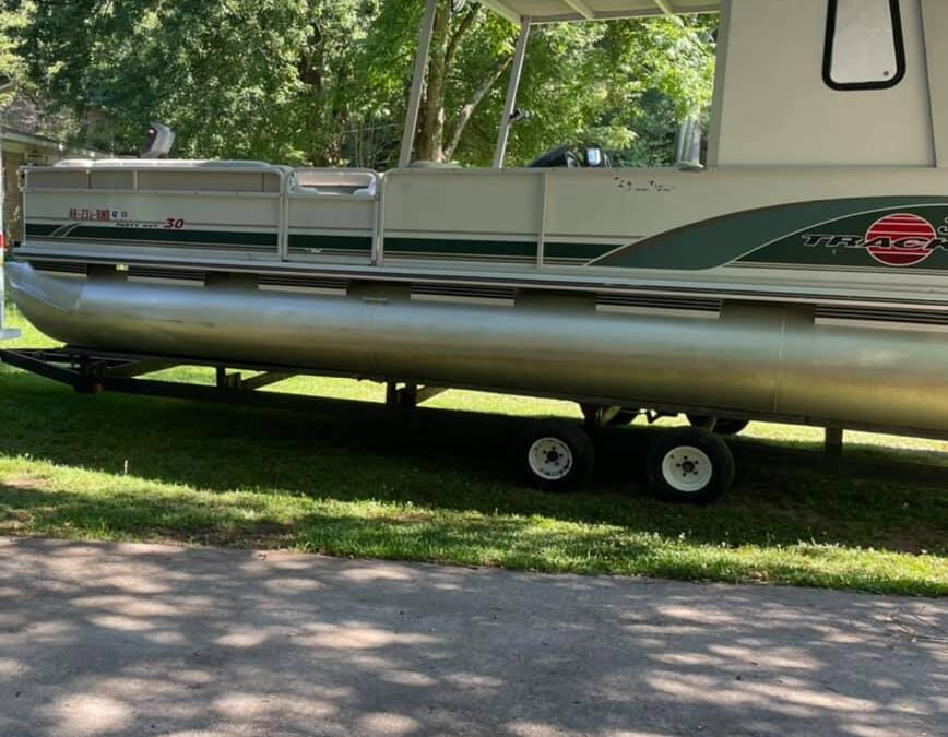 Pontoon Boat and Trailer Stolen from Palmetto Bay, Florida