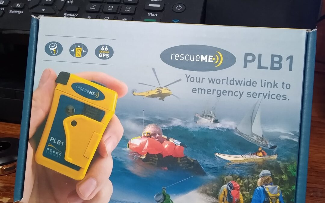 Personal Locator Beacon Alerts USCG to Sinking Vessel South Padre Island, Texas