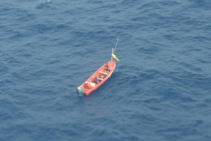 Three St. Lucia Fishermen Rescued by MV Seaboard Ranger, Dutch & St. Lucia Coast Guards