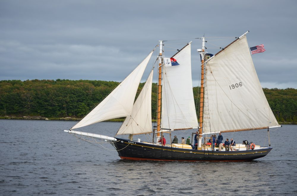 18 Rescued from Capsized Historic Schooner, Bath, Maine