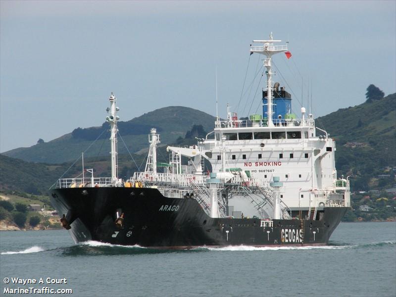 SV Queal Activates EPIRB, Assisted by LPG Tanker Arago & JRCC Australia