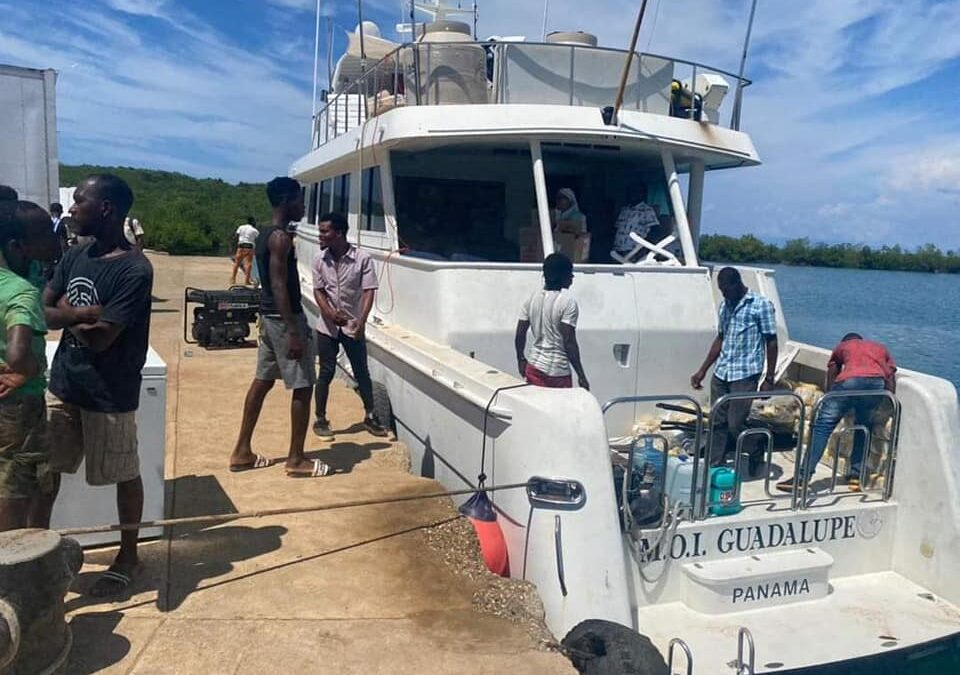 BOLO for MV Guadalupe Returning From Aid in Haiti to Mexico
